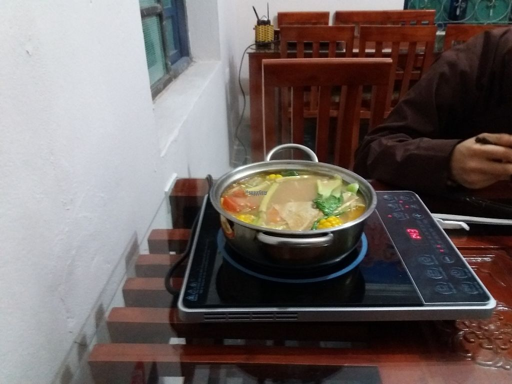 """Photo of Cat Tuong Lan  by <a href=""""/members/profile/veganvirtues"""">veganvirtues</a> <br/>Hot pot cookingo <br/> January 3, 2017  - <a href='/contact/abuse/image/84511/207606'>Report</a>"""