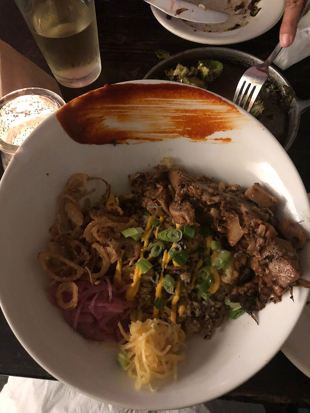 """Photo of L.A. Gastronomy  by <a href=""""/members/profile/JanaFisher"""">JanaFisher</a> <br/>Korean BBQ jackfruit <br/> February 5, 2018  - <a href='/contact/abuse/image/84517/355148'>Report</a>"""