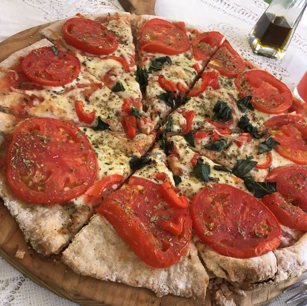 """Photo of La Devota  by <a href=""""/members/profile/SuBravo"""">SuBravo</a> <br/>pizza (with cheese) <br/> March 14, 2017  - <a href='/contact/abuse/image/84519/236441'>Report</a>"""