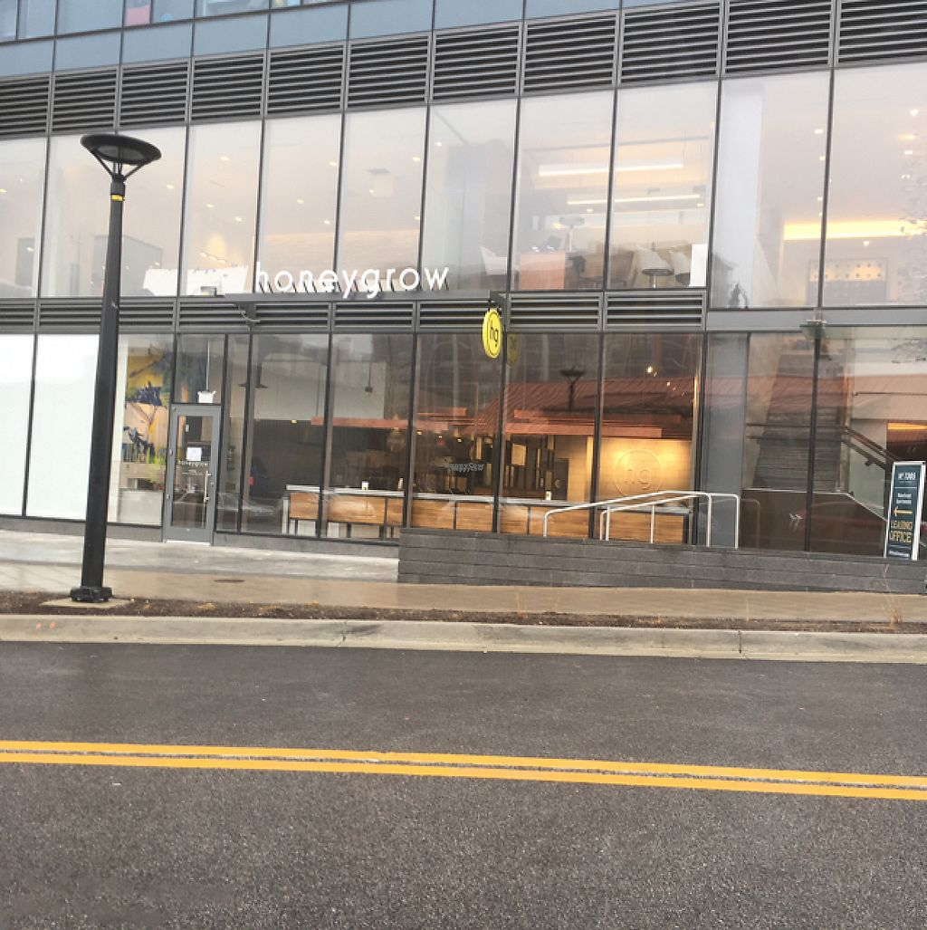 """Photo of honeygrow - Dock St  by <a href=""""/members/profile/nardanddee"""">nardanddee</a> <br/>exterior <br/> January 21, 2017  - <a href='/contact/abuse/image/84527/214166'>Report</a>"""