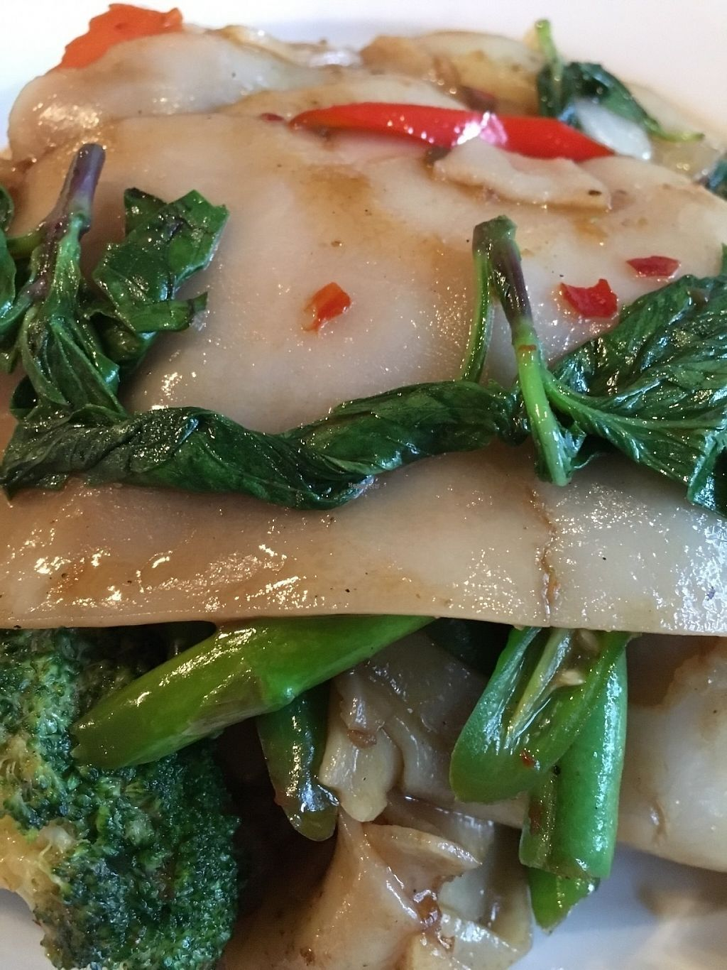 """Photo of Beau Thai - Mount Pleasant  by <a href=""""/members/profile/cookiem"""">cookiem</a> <br/>Drunken noodles <br/> January 27, 2017  - <a href='/contact/abuse/image/84549/217966'>Report</a>"""