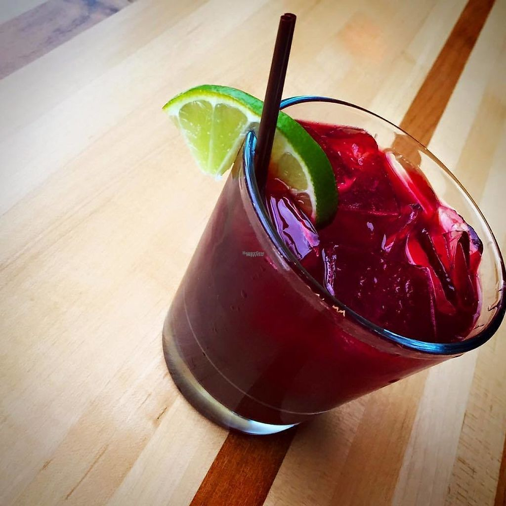 """Photo of Beau Thai - Shaw  by <a href=""""/members/profile/community"""">community</a> <br/>Spicy Hibiscus Margarita <br/> January 27, 2017  - <a href='/contact/abuse/image/84550/217795'>Report</a>"""