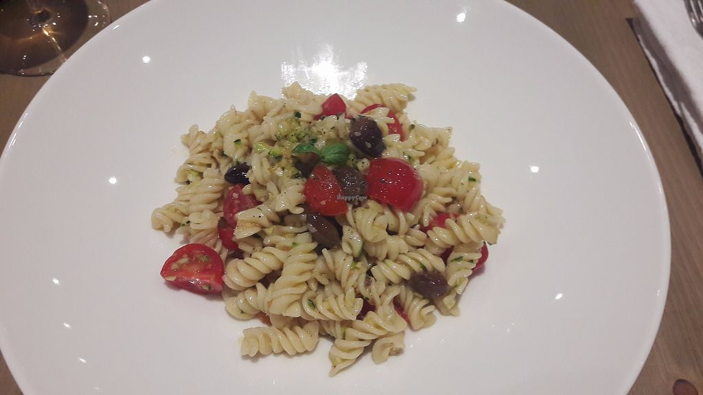 """Photo of Enoteca Radici  by <a href=""""/members/profile/jennyc32"""">jennyc32</a> <br/>Fusilli """"with pesto"""" 2nd night- clearly no pesto! <br/> August 6, 2017  - <a href='/contact/abuse/image/84555/289689'>Report</a>"""