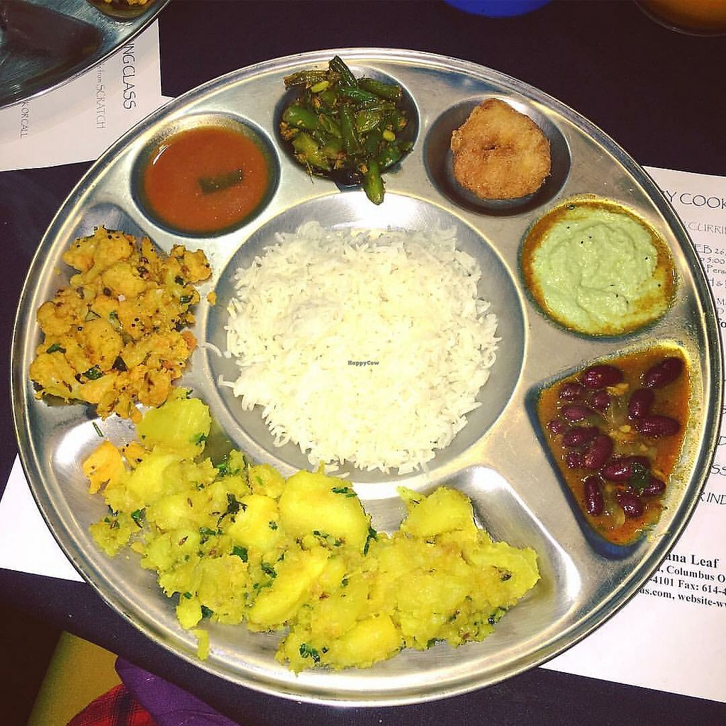 "Photo of Banana Leaf Restaurant  by <a href=""/members/profile/Tabgreenvegan"">Tabgreenvegan</a> <br/>Buffet  <br/> March 28, 2018  - <a href='/contact/abuse/image/84559/377445'>Report</a>"