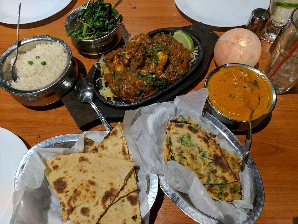 """Photo of Ambrosia India Bistro  by <a href=""""/members/profile/Conniemm"""">Conniemm</a> <br/>breads <br/> February 23, 2017  - <a href='/contact/abuse/image/84578/229521'>Report</a>"""