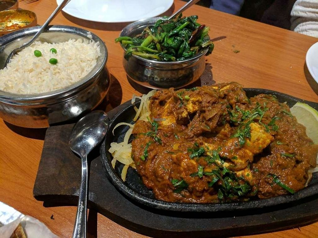 """Photo of Ambrosia India Bistro  by <a href=""""/members/profile/Conniemm"""">Conniemm</a> <br/>tofu tikka <br/> February 23, 2017  - <a href='/contact/abuse/image/84578/229522'>Report</a>"""