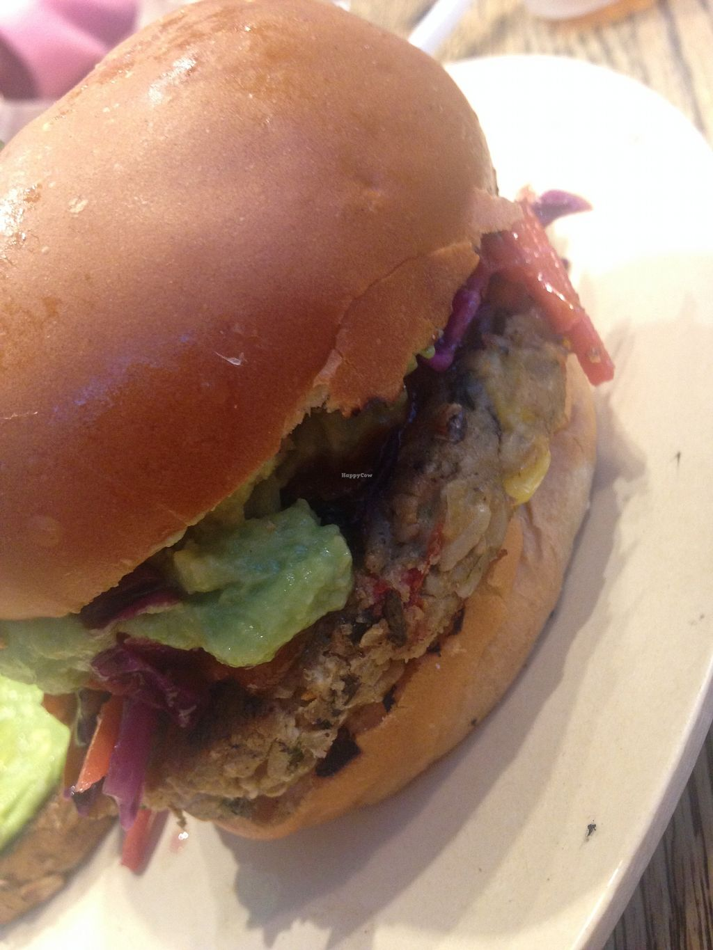 """Photo of b.good  by <a href=""""/members/profile/BreannaWhite"""">BreannaWhite</a> <br/>Veggie Burger <br/> January 28, 2018  - <a href='/contact/abuse/image/84599/352143'>Report</a>"""