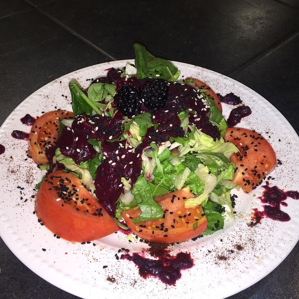 """Photo of Terra  by <a href=""""/members/profile/lovehealthy"""">lovehealthy</a> <br/>This was a lunch special during one visit, Lava Salad, with pomegranate and chili powder!!!! Sooooo good <br/> January 3, 2017  - <a href='/contact/abuse/image/84622/207745'>Report</a>"""