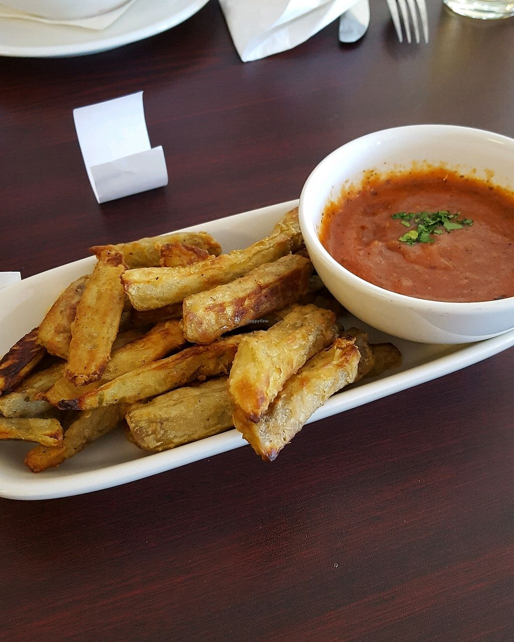 """Photo of Terra  by <a href=""""/members/profile/KimStortz"""">KimStortz</a> <br/>eggplant fries <br/> October 28, 2017  - <a href='/contact/abuse/image/84622/319489'>Report</a>"""