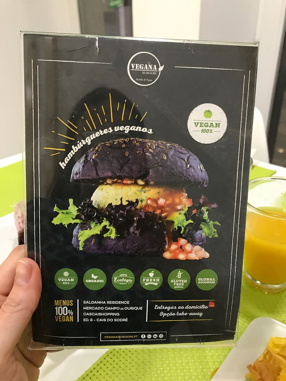 "Photo of Vegana Burgers - Cais do Sodre  by <a href=""/members/profile/ReginaCoeli"">ReginaCoeli</a> <br/>menu front <br/> September 5, 2017  - <a href='/contact/abuse/image/84623/301266'>Report</a>"