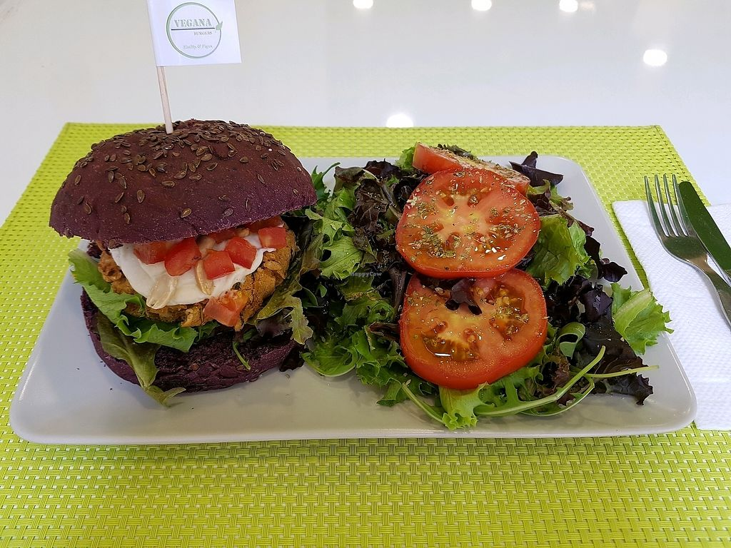 """Photo of Vegana Burgers - Cais do Sodre  by <a href=""""/members/profile/KatheWatson"""">KatheWatson</a> <br/>Yummy! <br/> September 7, 2017  - <a href='/contact/abuse/image/84623/301780'>Report</a>"""