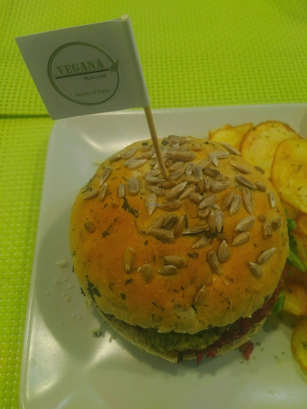 """Photo of Vegana Burgers - Cais do Sodre  by <a href=""""/members/profile/BrightNomad"""">BrightNomad</a> <br/>vegana <br/> October 23, 2017  - <a href='/contact/abuse/image/84623/318092'>Report</a>"""