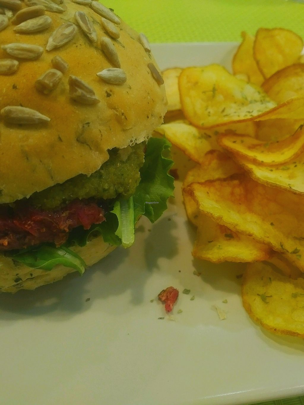 """Photo of Vegana Burgers - Cais do Sodre  by <a href=""""/members/profile/BrightNomad"""">BrightNomad</a> <br/>vegana <br/> October 23, 2017  - <a href='/contact/abuse/image/84623/318093'>Report</a>"""