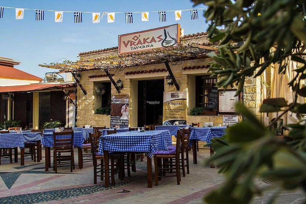 """Photo of O'Vrakas Taverna  by <a href=""""/members/profile/memnosg9"""">memnosg9</a> <br/>O Vrakas Taverna in Pissouri Cyprus <br/> January 4, 2017  - <a href='/contact/abuse/image/84642/207988'>Report</a>"""