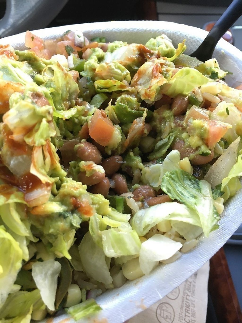 """Photo of Chipotle  by <a href=""""/members/profile/KWdaddio"""">KWdaddio</a> <br/>Veggie Bowl <br/> December 30, 2016  - <a href='/contact/abuse/image/84670/206068'>Report</a>"""