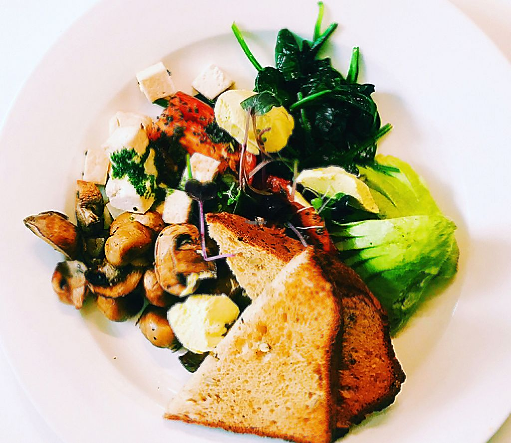 """Photo of Ballarat Wholefoods Cafe  by <a href=""""/members/profile/AmieeChung"""">AmieeChung</a> <br/>VeganBreakfast <br/> January 25, 2017  - <a href='/contact/abuse/image/84679/255735'>Report</a>"""