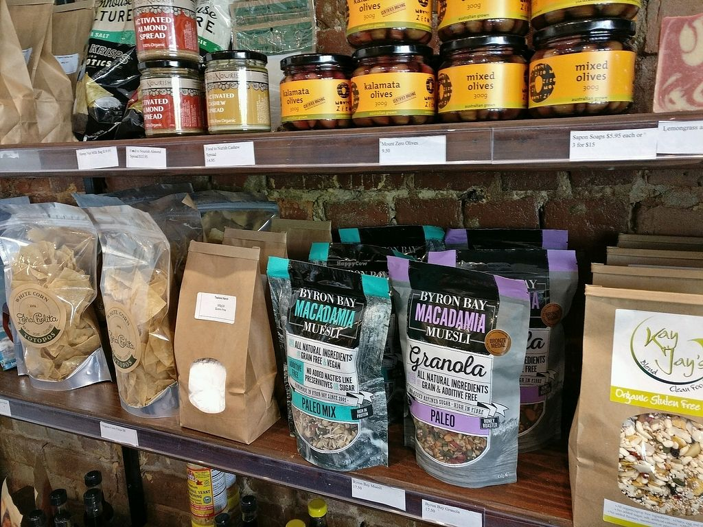 """Photo of Ballarat Wholefoods Cafe  by <a href=""""/members/profile/Aloo"""">Aloo</a> <br/>some interesting supplies  <br/> November 8, 2017  - <a href='/contact/abuse/image/84679/323204'>Report</a>"""