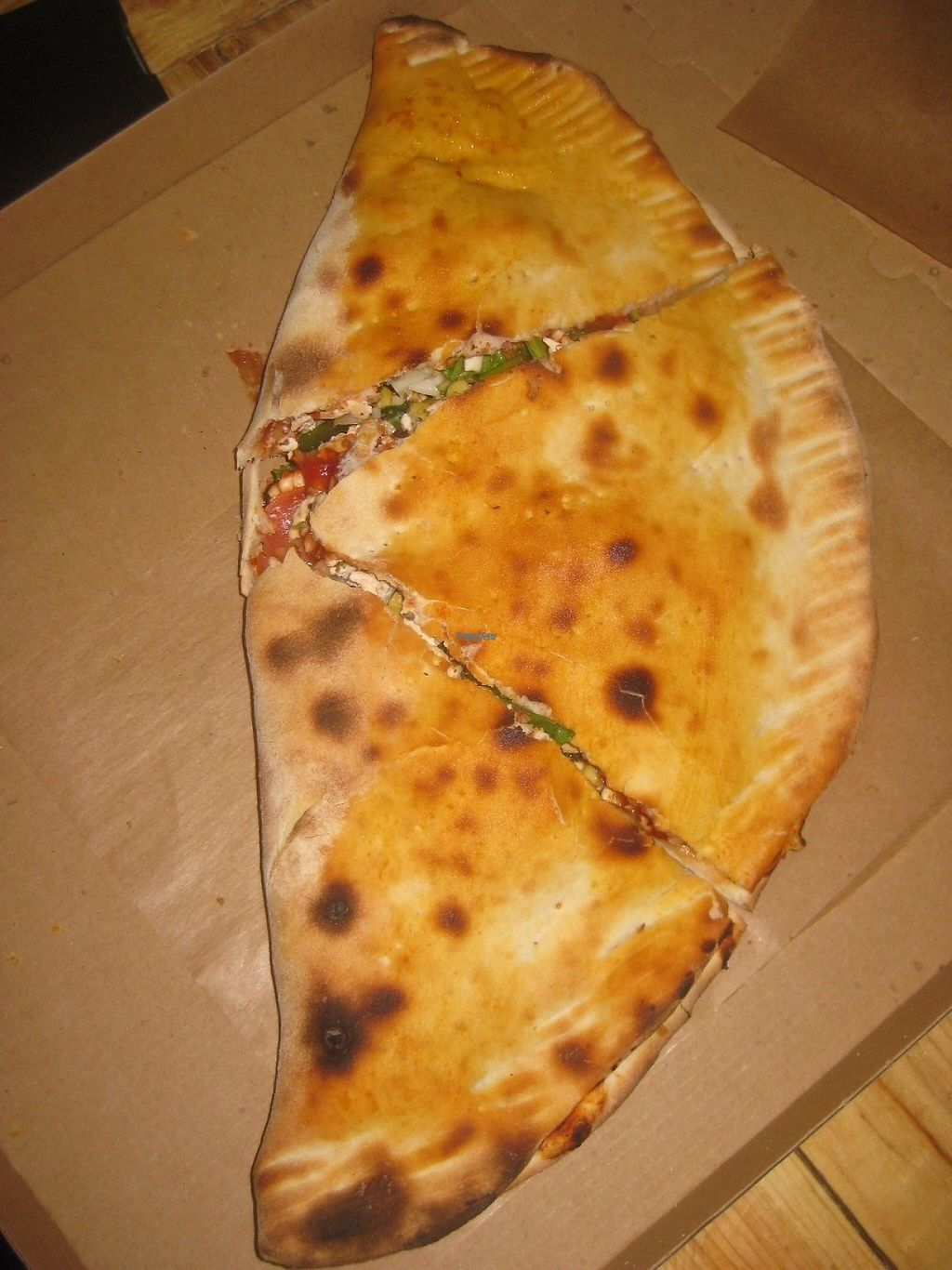 """Photo of Chutnej Fast Food  by <a href=""""/members/profile/jennyc32"""">jennyc32</a> <br/>Calzone (kapsa) <br/> April 25, 2017  - <a href='/contact/abuse/image/84697/252252'>Report</a>"""