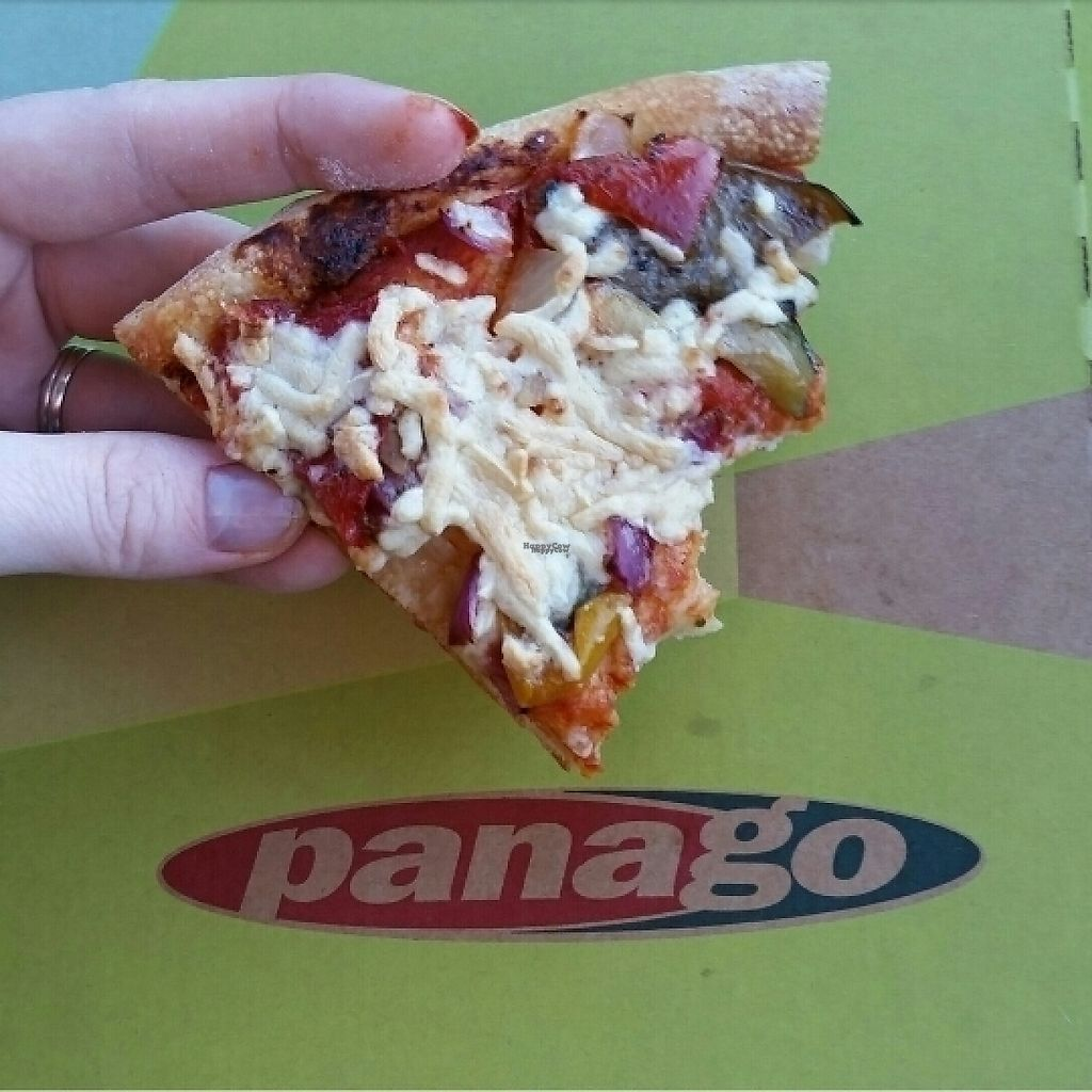 """Photo of Panago Pizza  by <a href=""""/members/profile/AnnaluSkyfire"""">AnnaluSkyfire</a> <br/>vegan pizza with daiya cheese  <br/> December 30, 2016  - <a href='/contact/abuse/image/84704/206301'>Report</a>"""