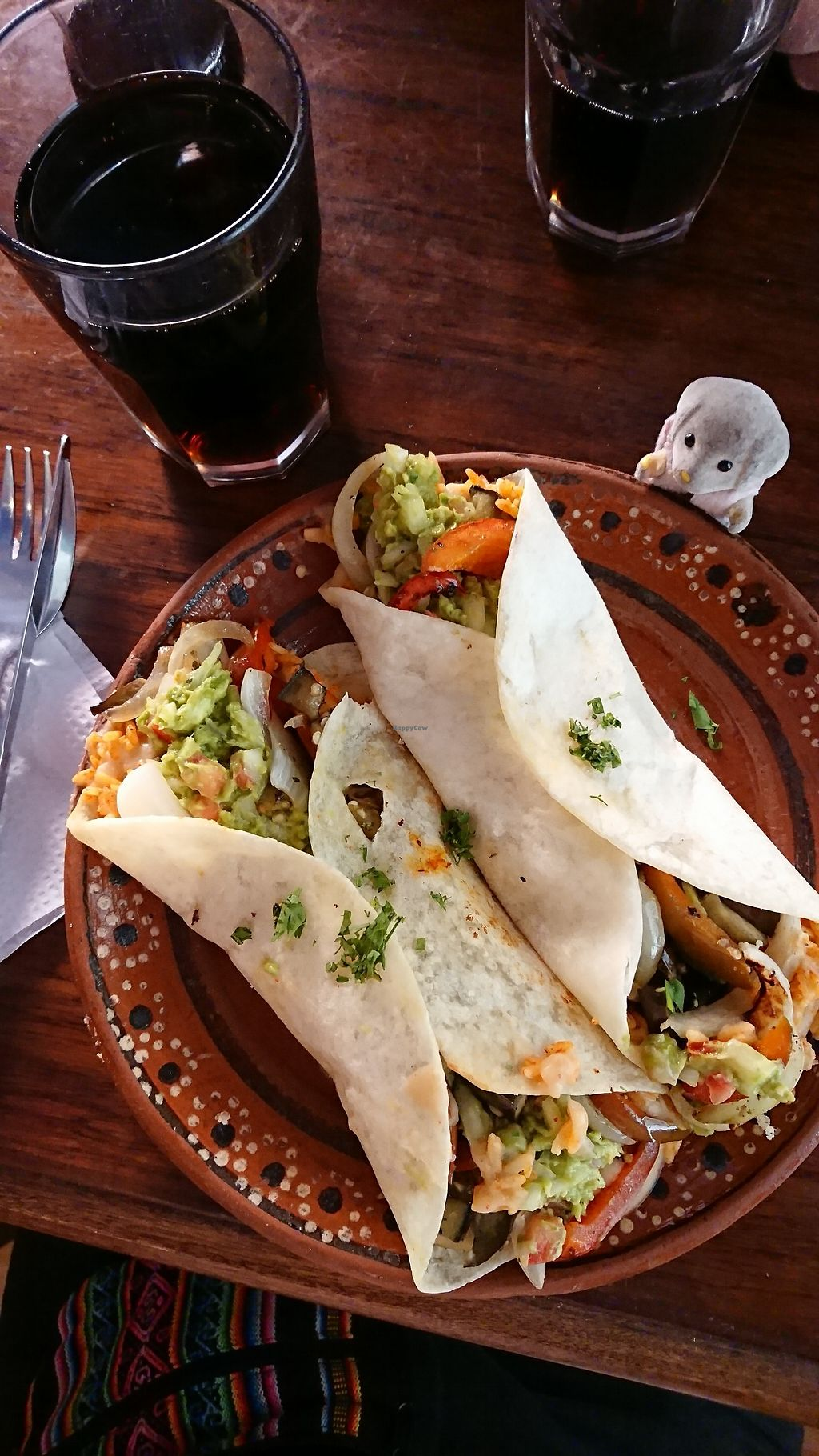 """Photo of ViveMexico  by <a href=""""/members/profile/MoaRichter"""">MoaRichter</a> <br/>Vegan burrito, take two to get really full or one if you're not that hungry  <br/> January 10, 2018  - <a href='/contact/abuse/image/84711/344874'>Report</a>"""