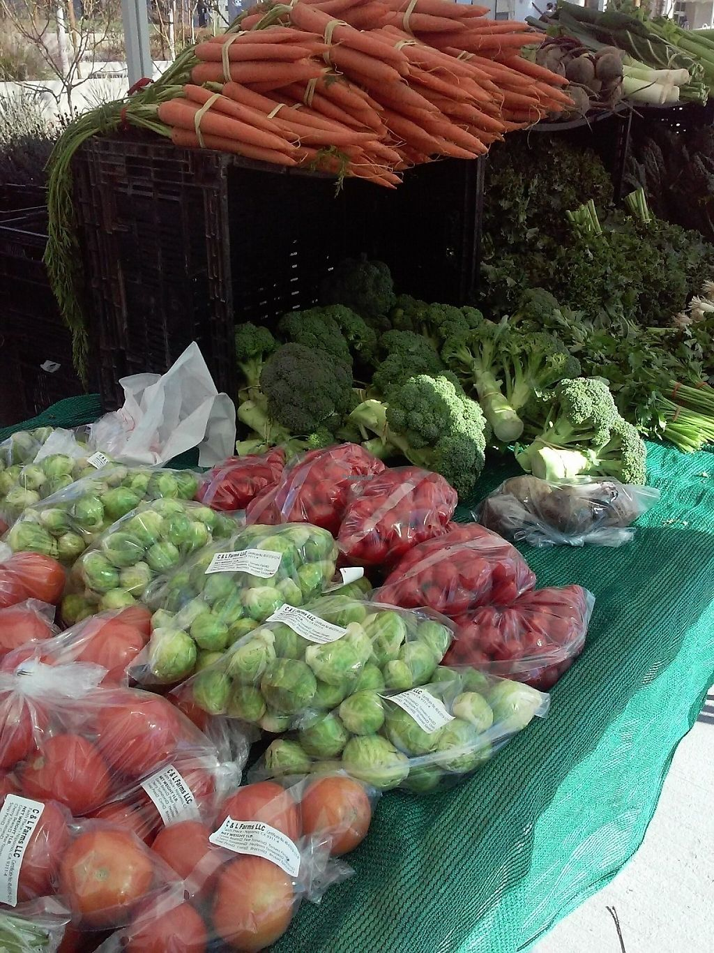 """Photo of Farmer's Market   by <a href=""""/members/profile/anastronomy"""">anastronomy</a> <br/>Locally grown produce <br/> December 30, 2016  - <a href='/contact/abuse/image/84750/206345'>Report</a>"""