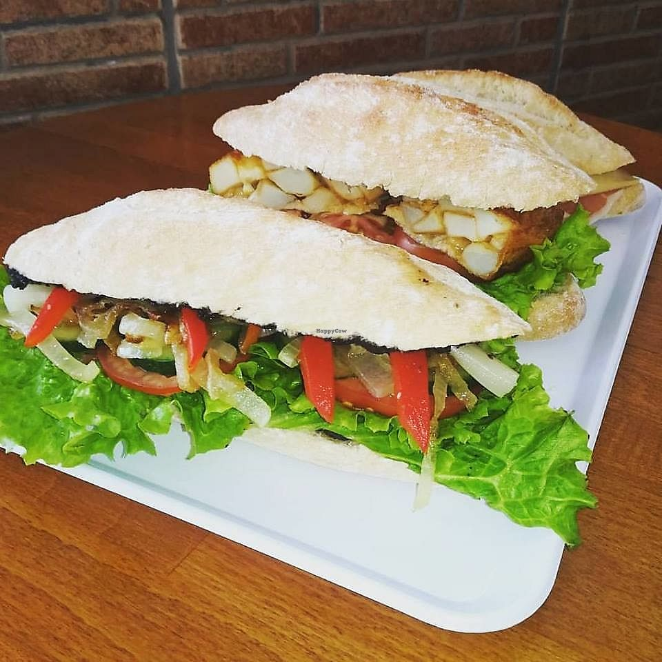 """Photo of Cafe Bonjour  by <a href=""""/members/profile/Flavita"""">Flavita</a> <br/>Vegan Baguettes  <br/> November 30, 2017  - <a href='/contact/abuse/image/84767/330890'>Report</a>"""