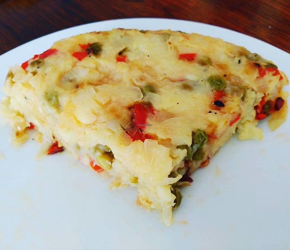 "Photo of Cafe Bonjour  by <a href=""/members/profile/Flavita"">Flavita</a> <br/>Potato tortilla  <br/> November 30, 2017  - <a href='/contact/abuse/image/84767/330892'>Report</a>"