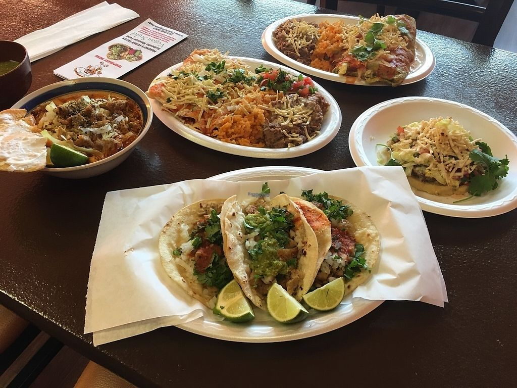 """Photo of Pancho's Vegan Tacos  by <a href=""""/members/profile/SacbeMeling"""">SacbeMeling</a> <br/>Many things  <br/> December 31, 2016  - <a href='/contact/abuse/image/84771/206422'>Report</a>"""