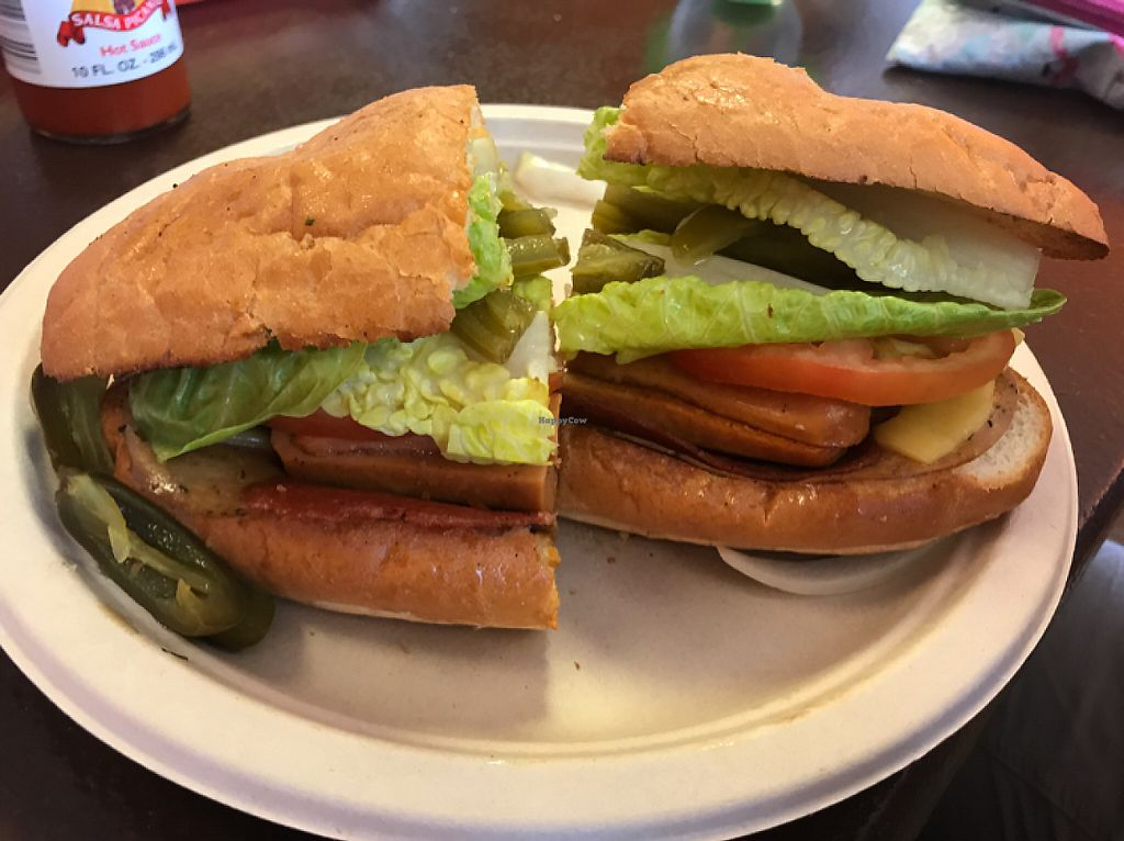 """Photo of Pancho's Vegan Tacos  by <a href=""""/members/profile/Remerson13"""">Remerson13</a> <br/>Cuban Torta <br/> May 7, 2017  - <a href='/contact/abuse/image/84771/256823'>Report</a>"""