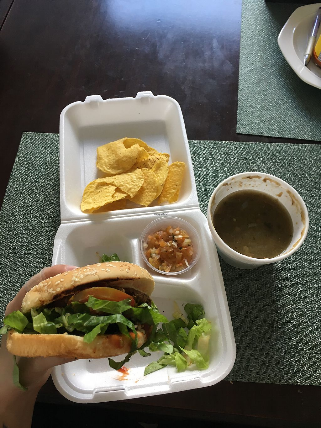 """Photo of Natural Spice  by <a href=""""/members/profile/CrisyRivera"""">CrisyRivera</a> <br/>Dilvery , hamburger and chips <br/> November 13, 2017  - <a href='/contact/abuse/image/84776/325031'>Report</a>"""