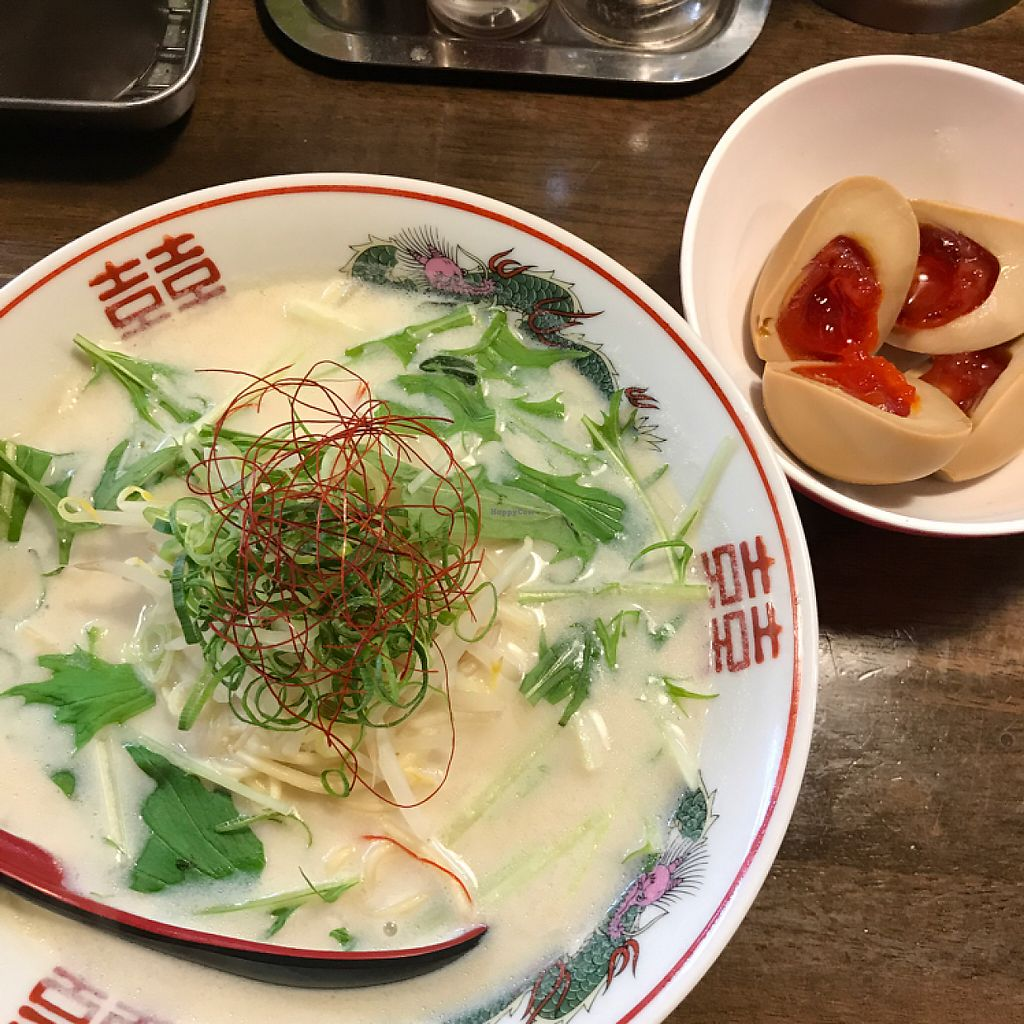"Photo of Shugetsu  by <a href=""/members/profile/KristaBrown"">KristaBrown</a> <br/>Vegan ramen + ramen egg <br/> May 26, 2017  - <a href='/contact/abuse/image/84780/262562'>Report</a>"