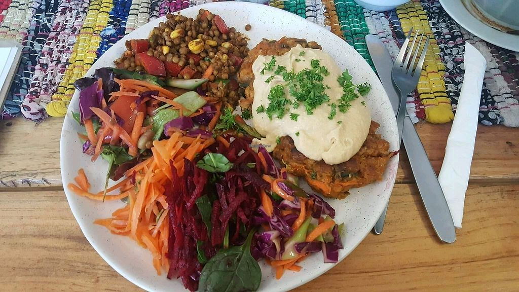 "Photo of Alchemy Cafe  by <a href=""/members/profile/waktool"">waktool</a> <br/>Chickpea patties  <br/> September 24, 2017  - <a href='/contact/abuse/image/84786/307749'>Report</a>"