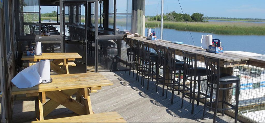 """Photo of Up the Creek Raw Bar  by <a href=""""/members/profile/Ratail252"""">Ratail252</a> <br/>outdoor seating <br/> January 6, 2017  - <a href='/contact/abuse/image/84799/208538'>Report</a>"""