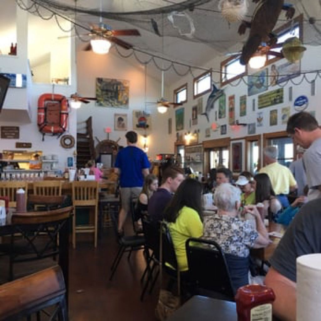 """Photo of Up the Creek Raw Bar  by <a href=""""/members/profile/Ratail252"""">Ratail252</a> <br/>indoor seating  <br/> January 6, 2017  - <a href='/contact/abuse/image/84799/208539'>Report</a>"""