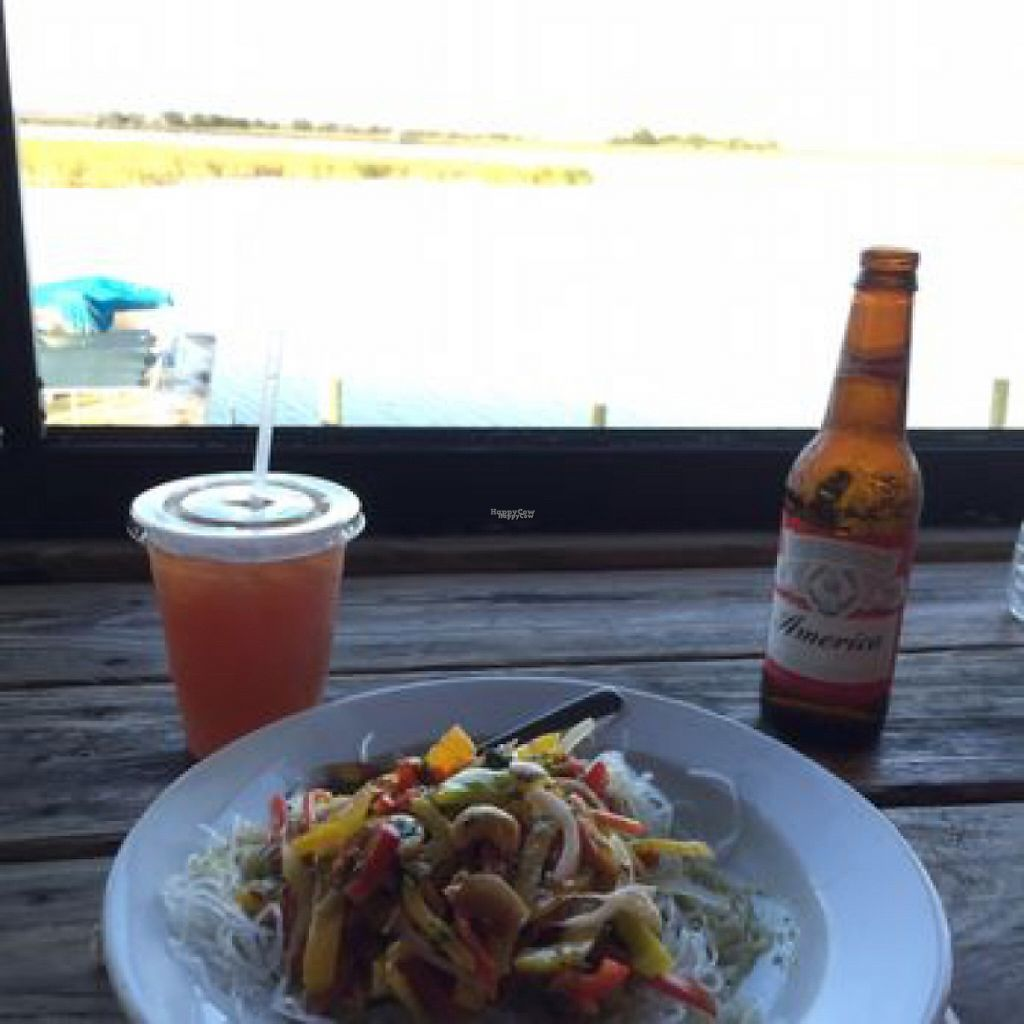 """Photo of Up the Creek Raw Bar  by <a href=""""/members/profile/Ratail252"""">Ratail252</a> <br/>Thai cellophane noodle salad <br/> January 6, 2017  - <a href='/contact/abuse/image/84799/208541'>Report</a>"""