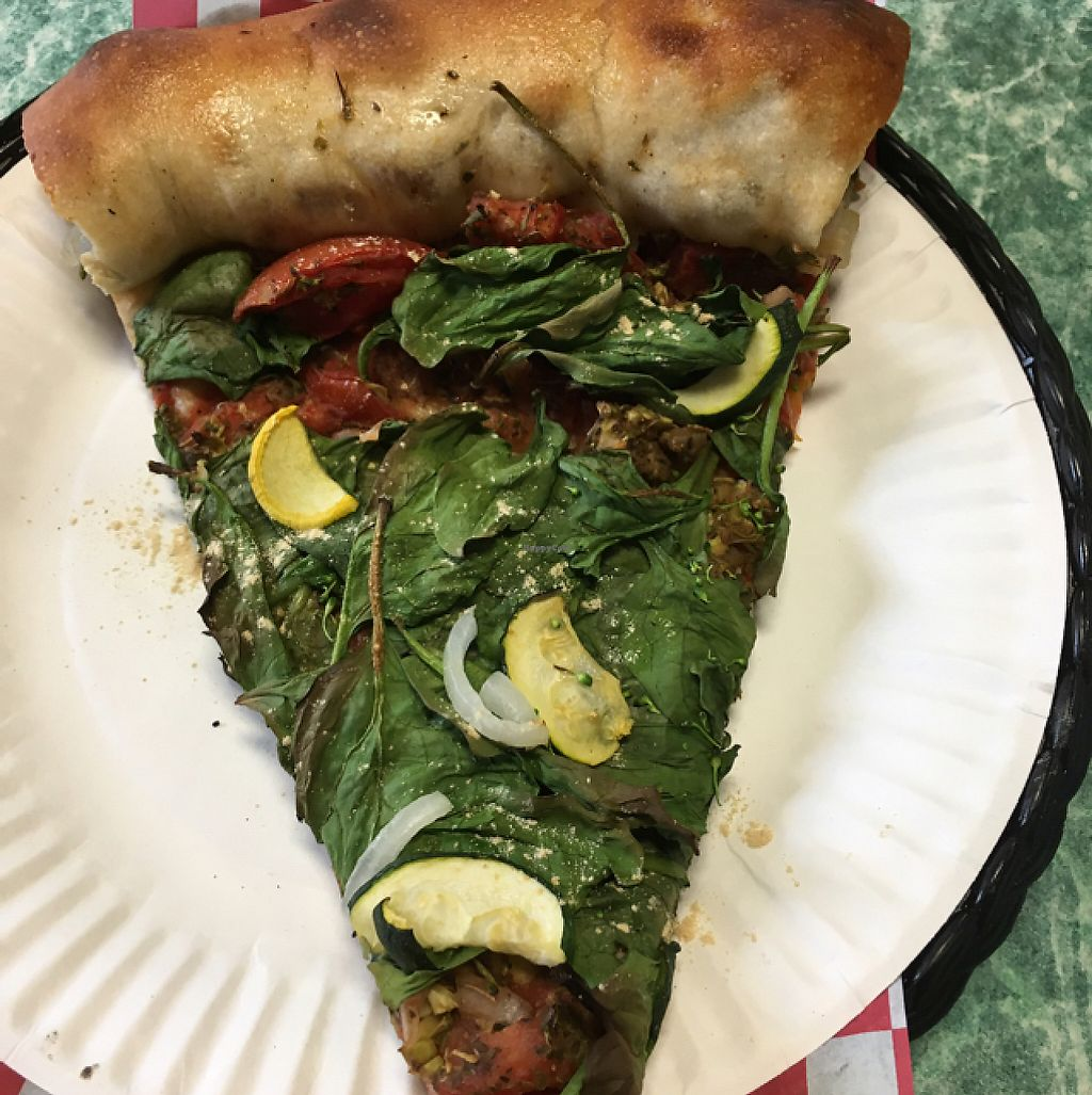 """Photo of Pieces Pizza By the Slice  by <a href=""""/members/profile/Durpadurp"""">Durpadurp</a> <br/>slice of heaven <br/> May 17, 2017  - <a href='/contact/abuse/image/84801/259523'>Report</a>"""