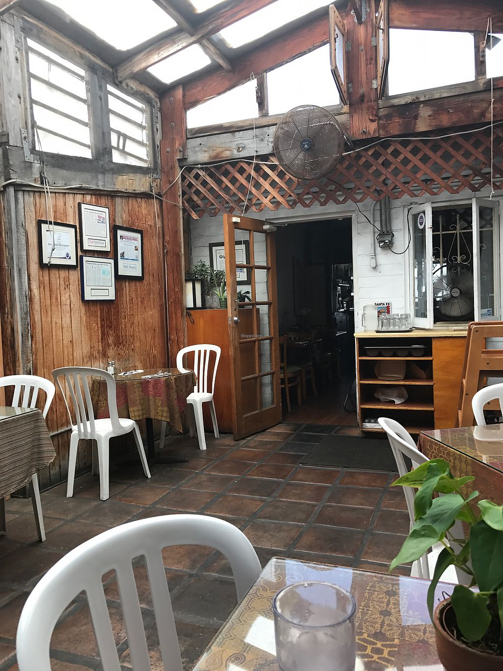 """Photo of The Spot Cafe  by <a href=""""/members/profile/koda668"""">koda668</a> <br/>outdoor patio <br/> July 19, 2017  - <a href='/contact/abuse/image/84808/282232'>Report</a>"""