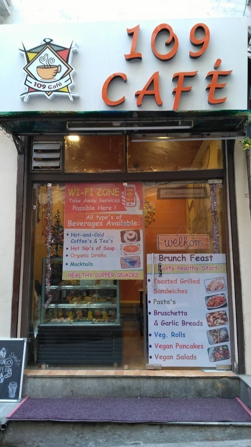 """Photo of 1o9 Cafe  by <a href=""""/members/profile/Gilogie"""">Gilogie</a> <br/>Entrance <br/> January 2, 2017  - <a href='/contact/abuse/image/84814/207086'>Report</a>"""