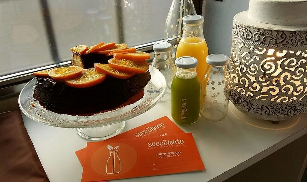 """Photo of Succolento  by <a href=""""/members/profile/community"""">community</a> <br/>vegan cake <br/> January 20, 2017  - <a href='/contact/abuse/image/84824/213735'>Report</a>"""