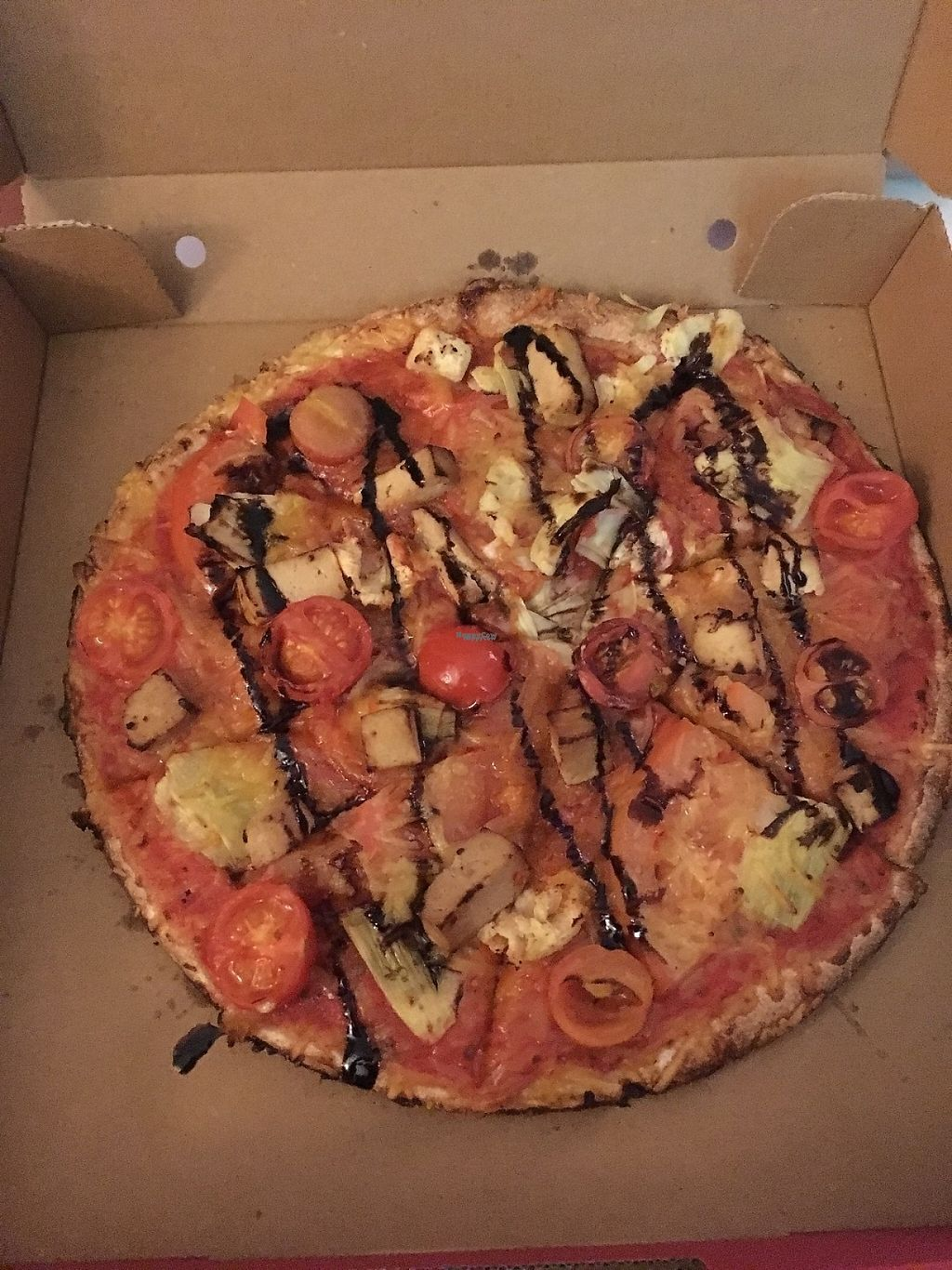 "Photo of CLOSED: Stückwerk  by <a href=""/members/profile/Tobias%20Boletaria"">Tobias Boletaria</a> <br/>Vegan ""Pizza Vegabunt"" with artichokes and smoked tofu <br/> January 8, 2017  - <a href='/contact/abuse/image/84828/209723'>Report</a>"