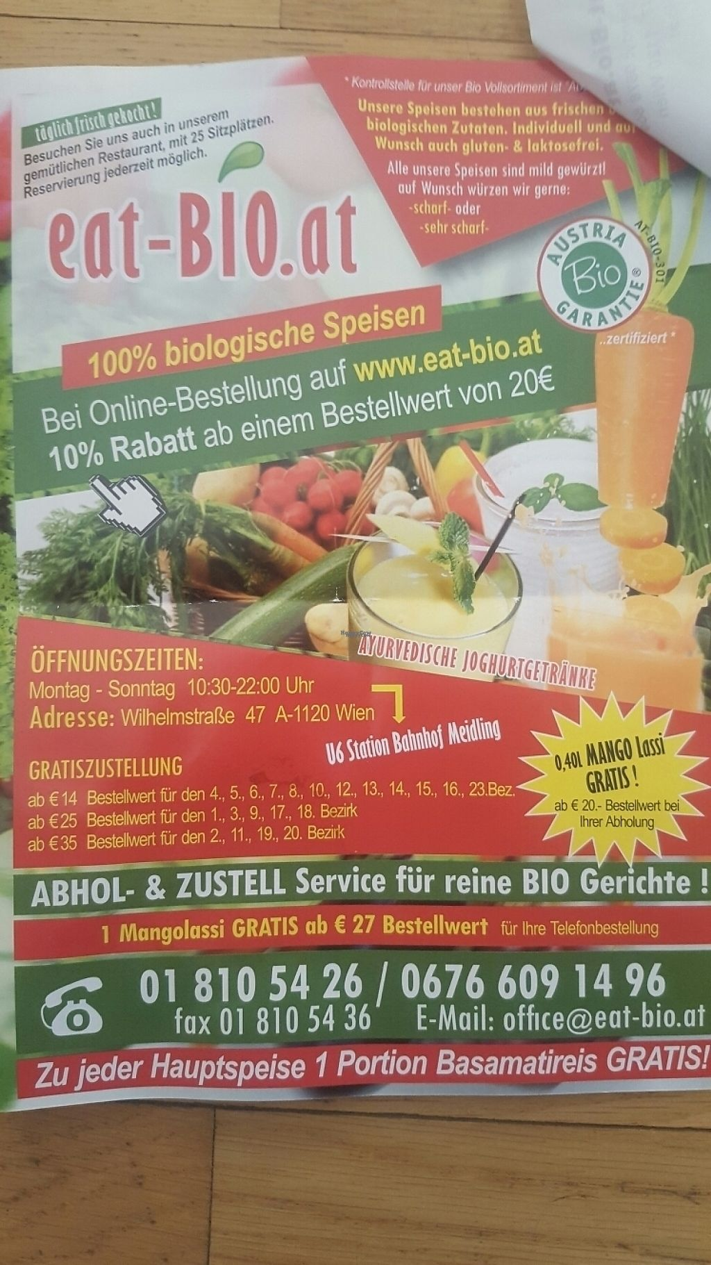 """Photo of Eat-Bio  by <a href=""""/members/profile/loveforveganfood"""">loveforveganfood</a> <br/>they also do delivery  <br/> January 2, 2017  - <a href='/contact/abuse/image/84841/207093'>Report</a>"""