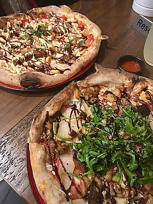 """Photo of Red Sparrow Pizza  by <a href=""""/members/profile/jojoinbrighton"""">jojoinbrighton</a> <br/>Pizza! <br/> August 9, 2017  - <a href='/contact/abuse/image/84855/290760'>Report</a>"""