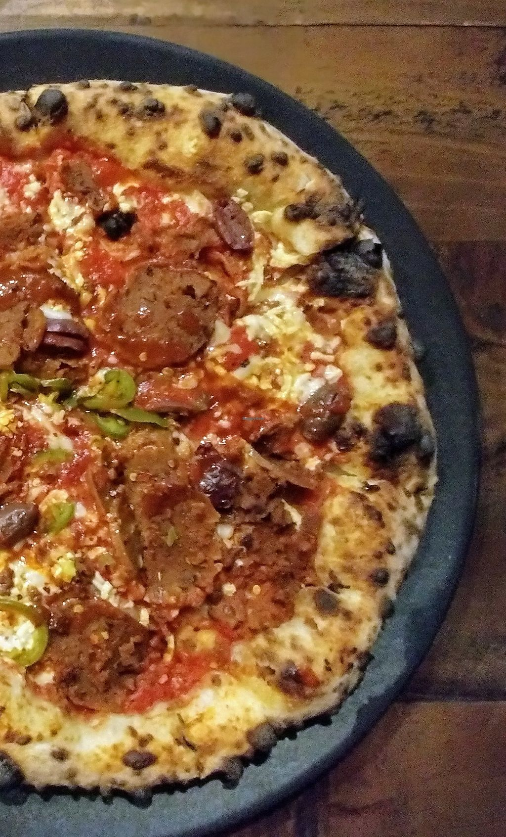 """Photo of Red Sparrow Pizza  by <a href=""""/members/profile/karlaess"""">karlaess</a> <br/>Volcano pizza <br/> March 31, 2018  - <a href='/contact/abuse/image/84855/378587'>Report</a>"""