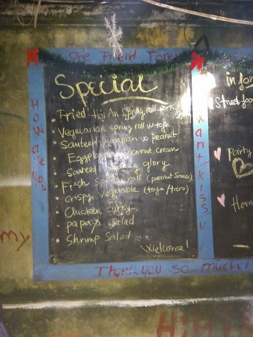 """Photo of CLOSED: Cay Me - Tamarind Tree  by <a href=""""/members/profile/Miggi"""">Miggi</a> <br/>Chalkboard menu <br/> January 3, 2017  - <a href='/contact/abuse/image/84856/207388'>Report</a>"""