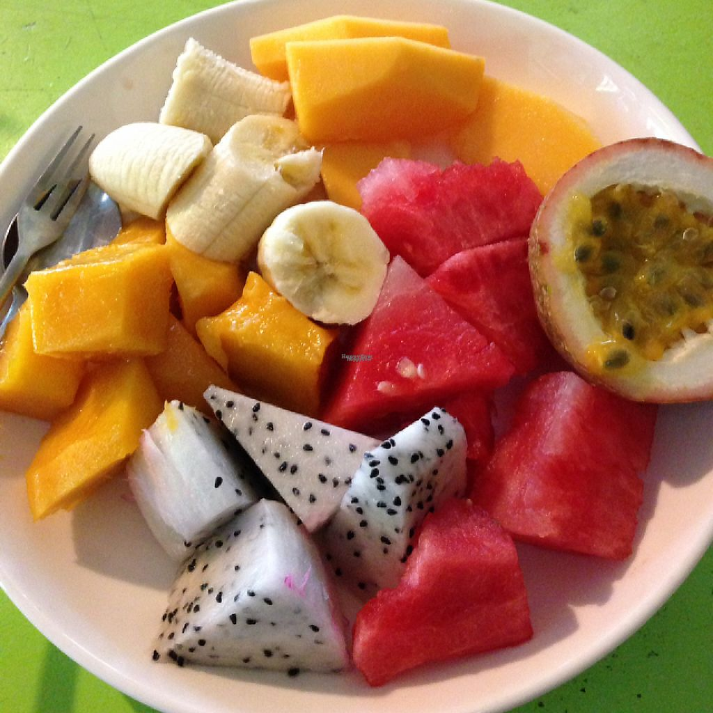 """Photo of CLOSED: Cay Me - Tamarind Tree  by <a href=""""/members/profile/Sunshinnneee"""">Sunshinnneee</a> <br/>Fruit plate for breaky  <br/> March 23, 2017  - <a href='/contact/abuse/image/84856/239878'>Report</a>"""