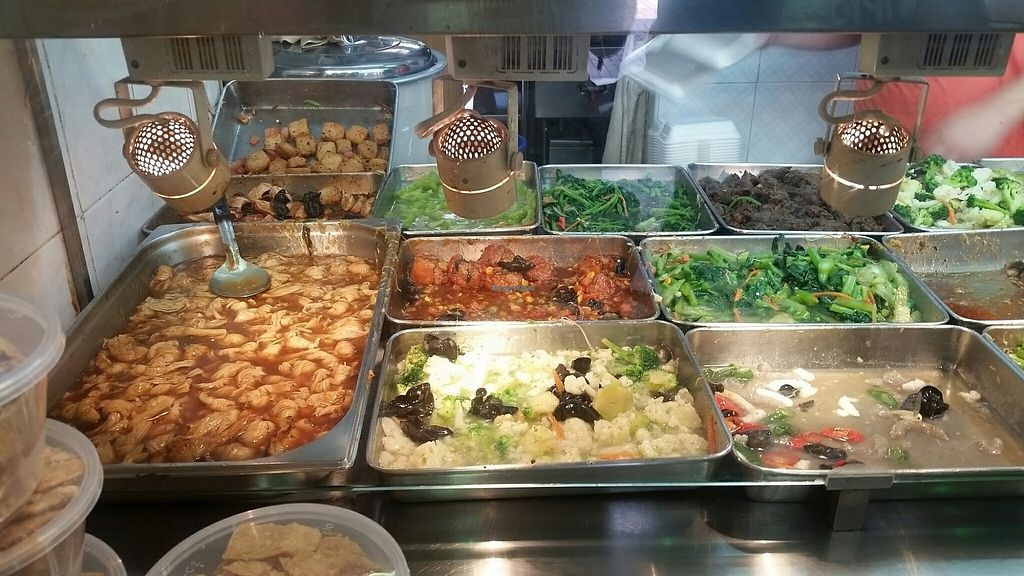 """Photo of e VEG Vegetarian - Serangoon Central   by <a href=""""/members/profile/JimmySeah"""">JimmySeah</a> <br/>buffet spread <br/> July 23, 2017  - <a href='/contact/abuse/image/84859/283674'>Report</a>"""