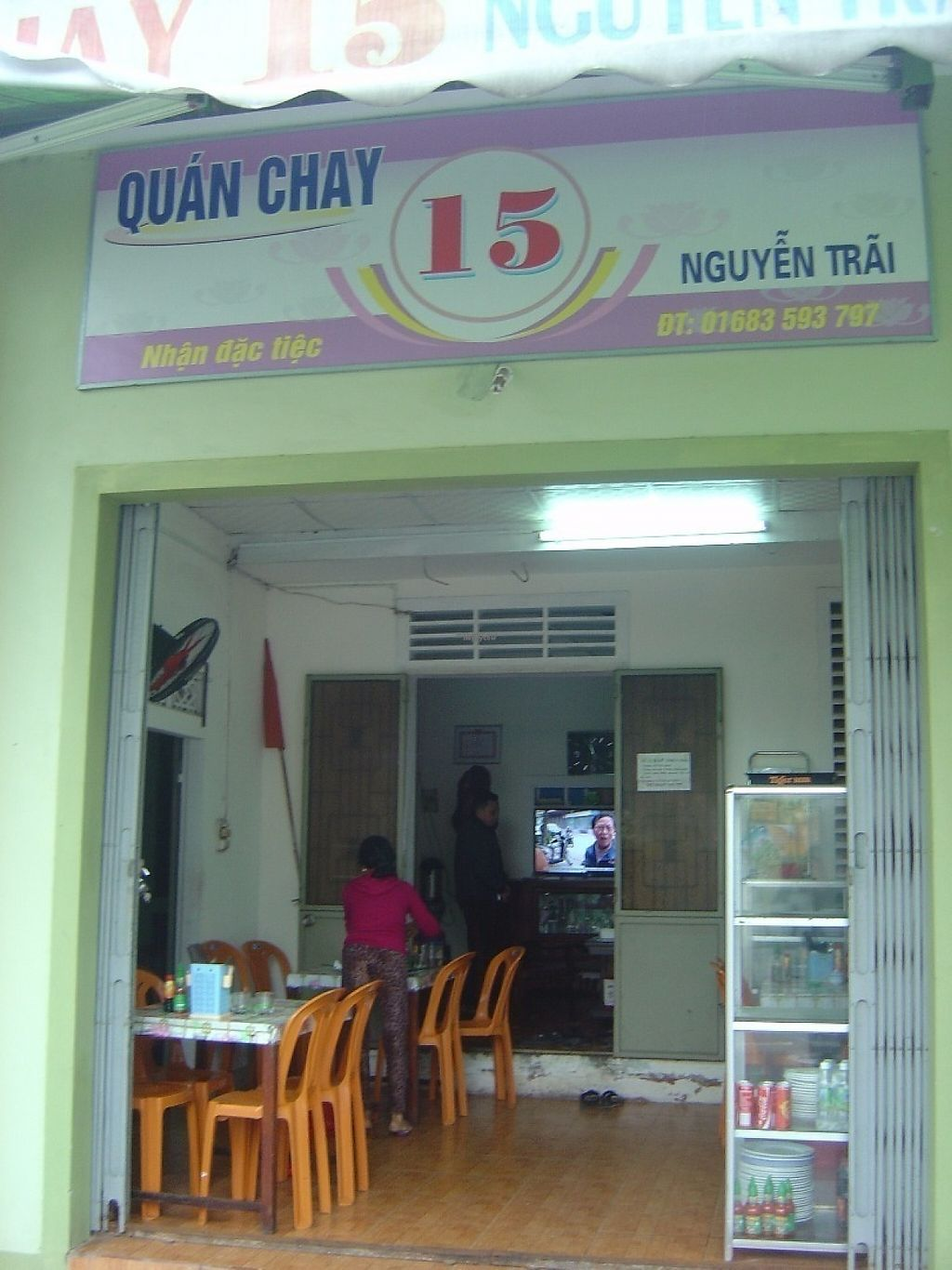 """Photo of Quan Chay 15  by <a href=""""/members/profile/mfalgas"""">mfalgas</a> <br/>Small restaurant as seen from outside <br/> January 5, 2017  - <a href='/contact/abuse/image/84890/208307'>Report</a>"""