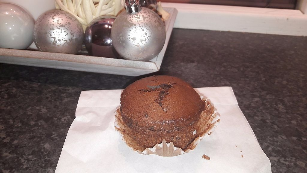 """Photo of Orto dei Golosi  by <a href=""""/members/profile/HappyElo"""">HappyElo</a> <br/>Vegan chocolate muffin <br/> January 4, 2017  - <a href='/contact/abuse/image/84938/207932'>Report</a>"""