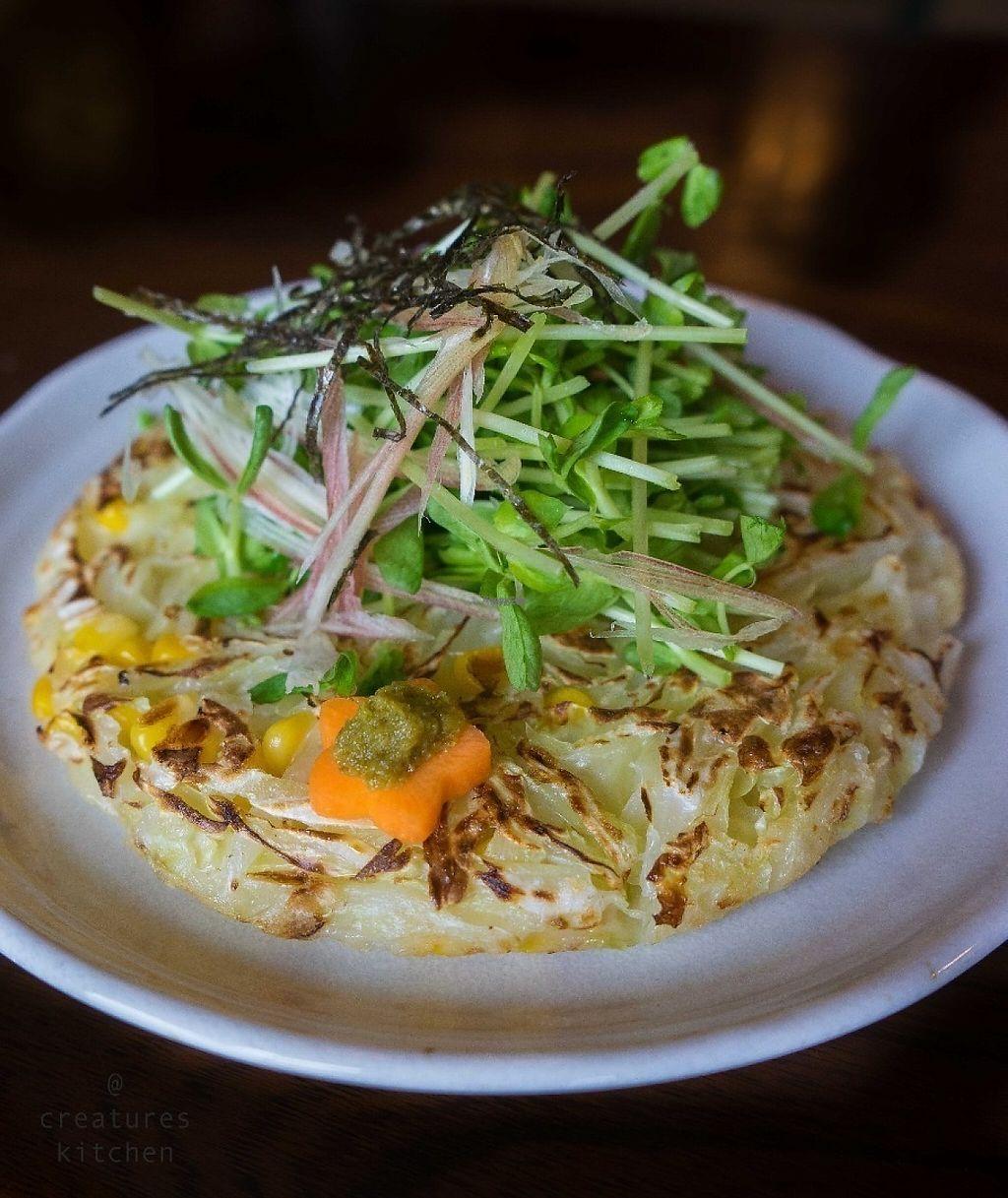 """Photo of Miyabichaya  by <a href=""""/members/profile/EmmaCebuliak"""">EmmaCebuliak</a> <br/>Vegan okonomiyaki <br/> January 20, 2017  - <a href='/contact/abuse/image/84945/213558'>Report</a>"""