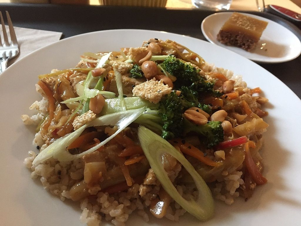 """Photo of VE.DOM.E Vegan Bistro  by <a href=""""/members/profile/jergusko"""">jergusko</a> <br/>unusual combination of ingredients makes their meals super-tasty <br/> June 8, 2017  - <a href='/contact/abuse/image/84960/267007'>Report</a>"""
